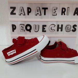 LEVIS - Zapatilla roja