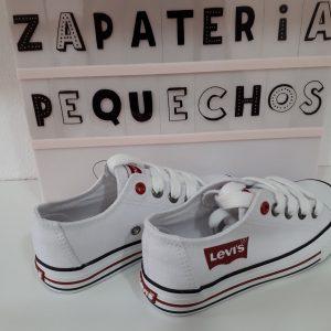 LEVIS - Zapatilla blanca