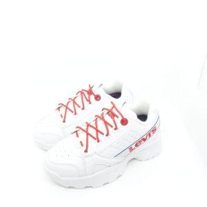 DEPORTIVA LEVI´S SOHO WHITE RED